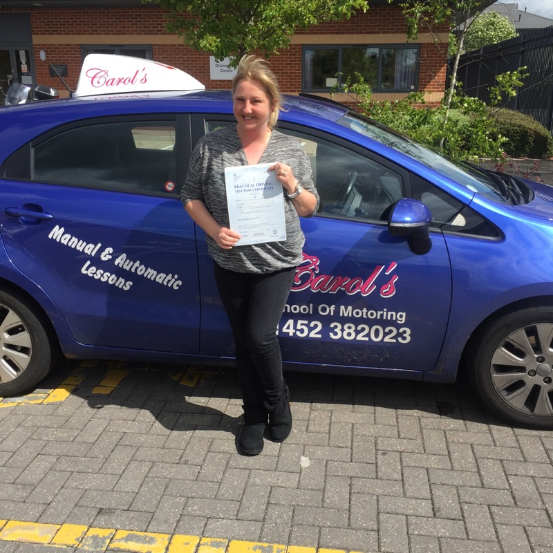 Natalie-coney-hill-passed- driving-test