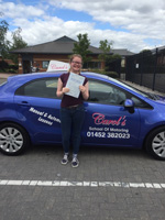 amy-passed-driving-test-gloucester-longlevens