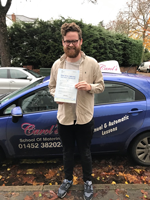 Spencer-passed-driving-test