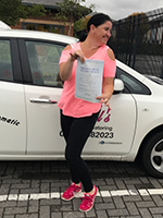donna-passed-driving-test-gloucester