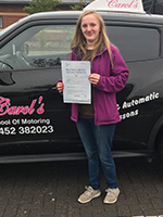 jordan-passed-driving-test-longlevens
