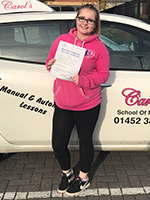 lizzie-passed-driving-test-gloucester