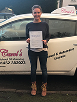 rachael-passed-driving-test-cheltenham