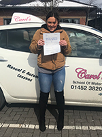 rachel-g-passed-driving-test-cheltenham