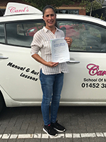 silvia-passed-driving-test-gloucester