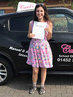 gaby-passed-driving-test-july-2018