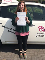 kelly-passed-driving-test-may-2018