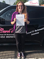 lydia-passed-driving-test-june-2018