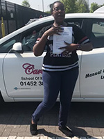 selina-passed-driving-test-june-2018